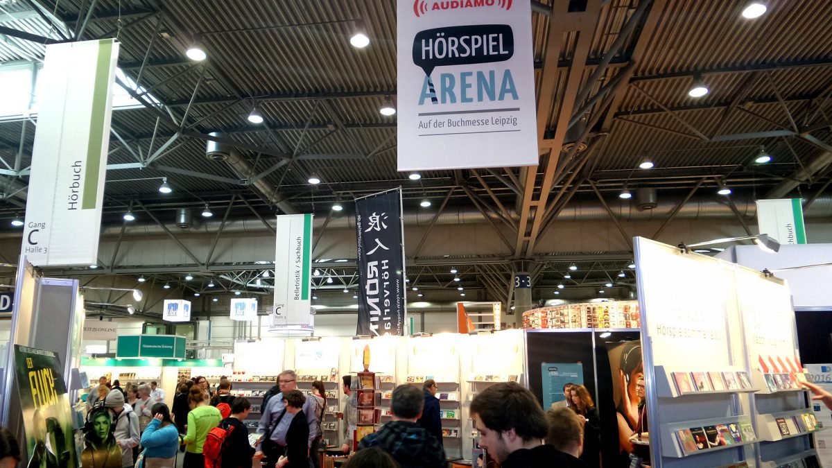 Mumien, Mayas, Mordratgeber: Hörspiel-Gemeinschaft e.V. auf der Leipziger Buchmesse